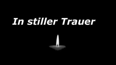 In Stiller Trauer!