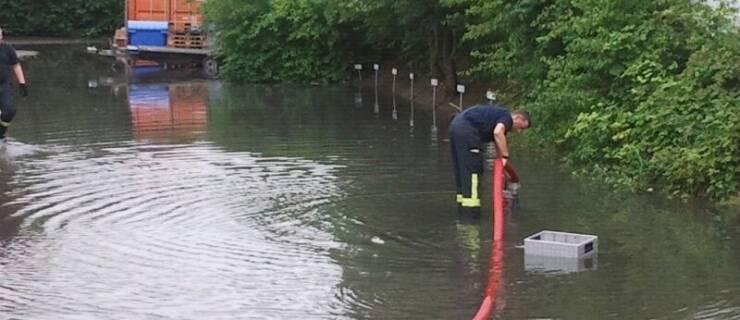 Einsätze 21 – 25/2021 – Hochwasser