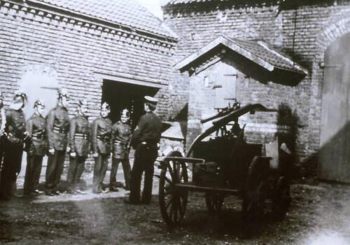 Übungsdienst um 1925