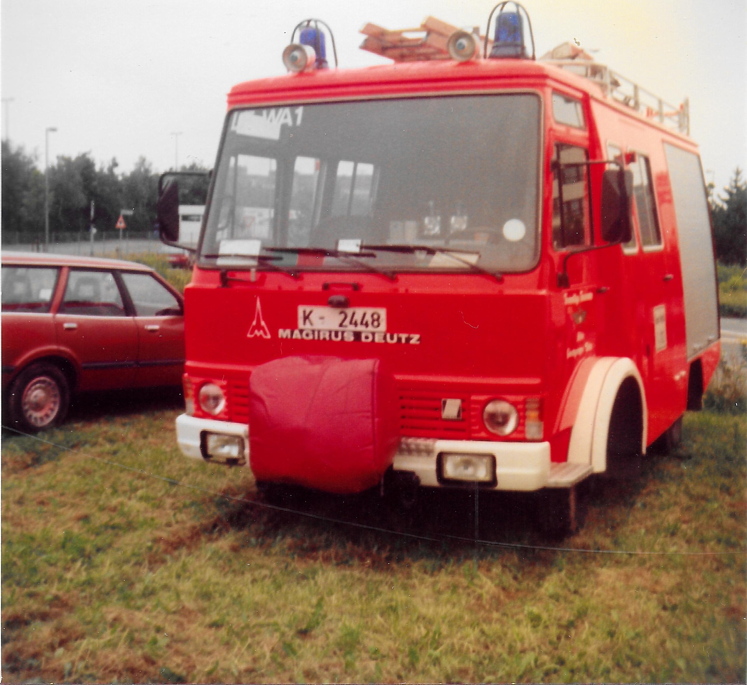 K-2448, LF PL JU, BJ 1981, Magirus